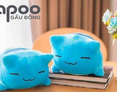 Khám Phá Về Sản Phẩm Mèo Capoo Gấu Bông