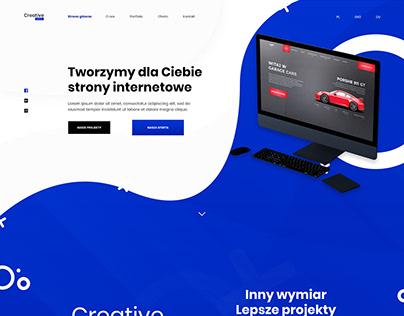Layout Web designing