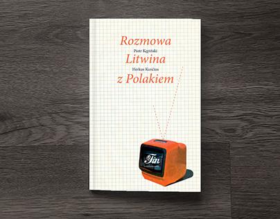 """Skład i projekt okładki """"Rozmowy Litwina z Polakiem"""""""