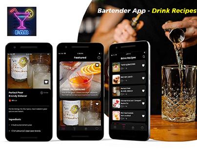 Bartender App – Drink Recipes