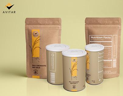 AVITAR Logo Design & Packaging Design