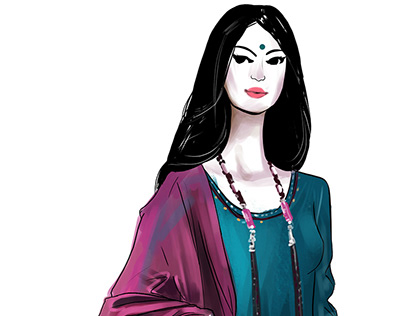 Jaypore.com Fashion Illustrations