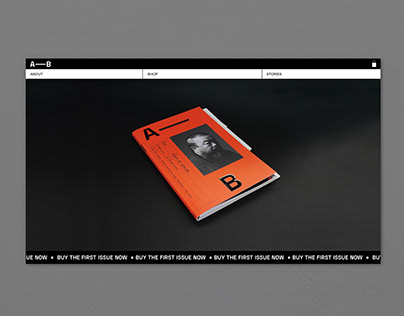 Website For A—B Magazine