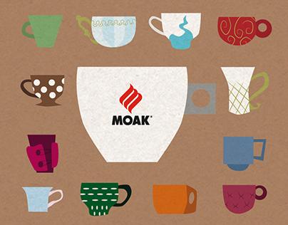 Packaging cialde Caffè Moak