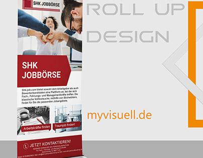 Roll Up Design, Job, Karriere