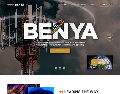 Benaya Website Concept