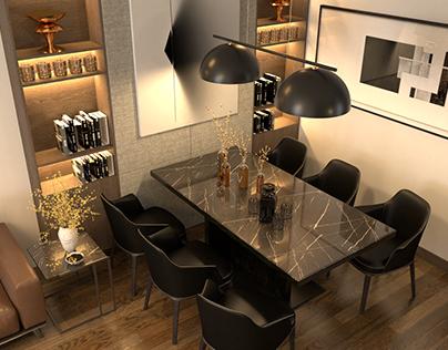 interior render/ desing (v-ray for sketchup)