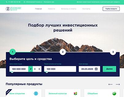 Izomorf Invest - Finance website