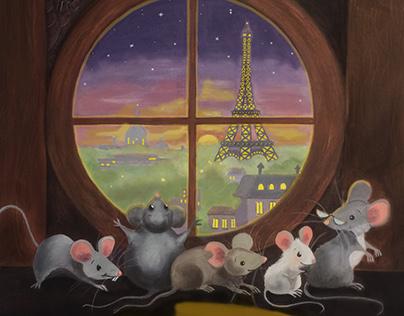 5 Hungry Mice