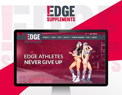 Website design for Edge-supplement