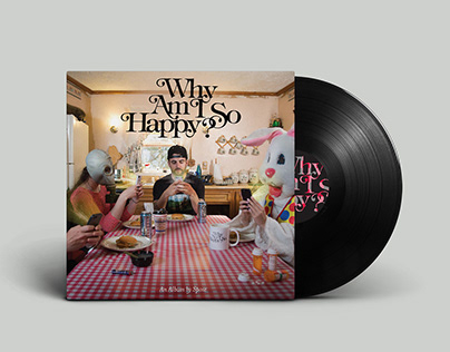 Spose 'Why Am I So Happy' Album Packaging