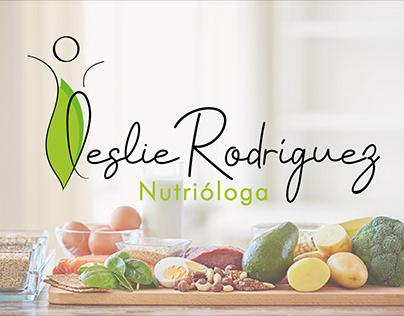 Nutrióloga Leslie Rodríguez