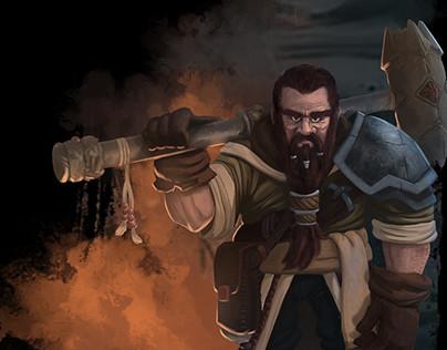 Kimtur the Dwarf Cleric