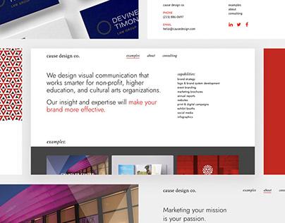 Cause Design Redesign