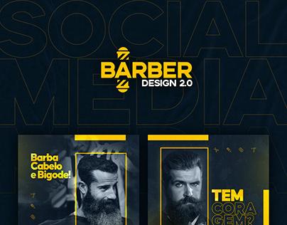 Barber Design 2.0 - Social Media para barbeiros.
