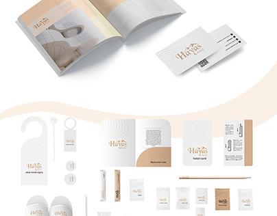 Branding for Hayas hotel