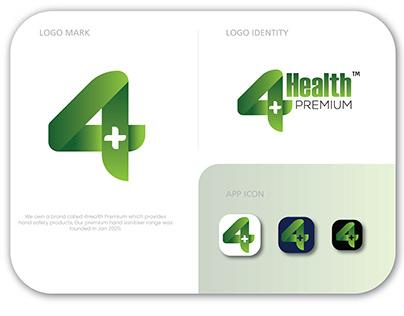 4Health Premium Logo Design | Branding