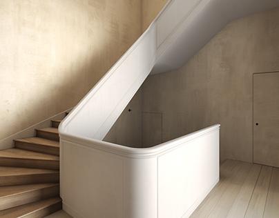 Casa II by Vincent Van Duysen. Max + Vray