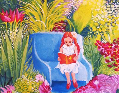 Acrylic Illustrations