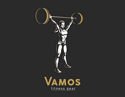VAMOS Female Fitness Branding
