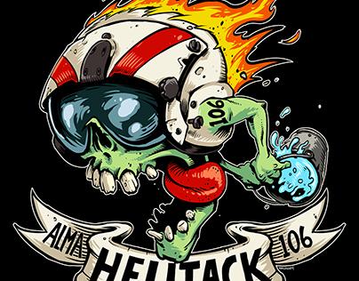 Alma Helitack t-shirt design