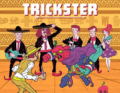 """Portada deDisco """"Trickster"""" para Carolina Reaper"""
