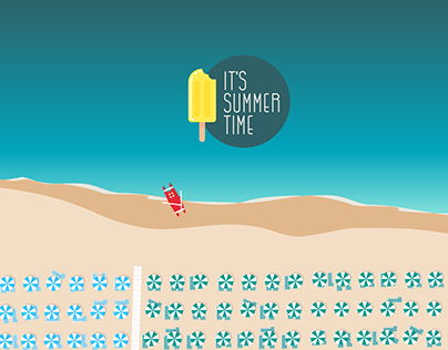 "Free Wallpaper ""It's Summer Time"""