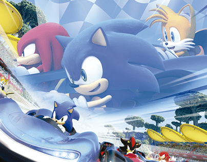 Team Sonic Racing: With Masamune