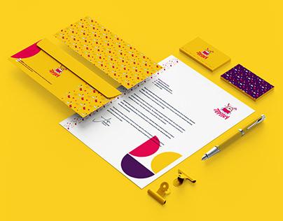 Teflley - visual identity design