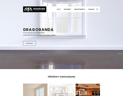 Webdesign For Dragoranda.cz