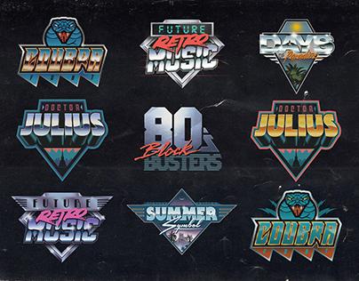 80s Logos Collection 2