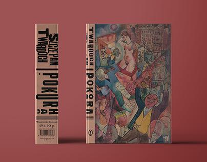 POKORA the spine book cover design