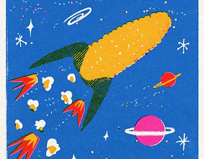 Atomic Age corn