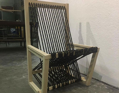 Pine Chair Model (Mickey's Spatial)