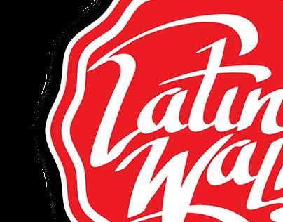 Latino Wall logo project