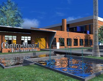 Projeto Centro Musical- Projeto 7º semestre
