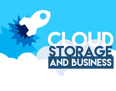 Cloud Storage Infographic