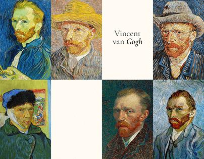 Vincent Van Gogh's website