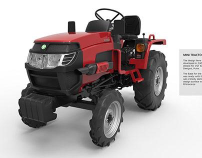 Mini Tractor design