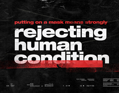rejecting human condition poster