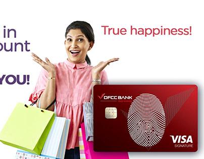 DFCC Credit card launch.