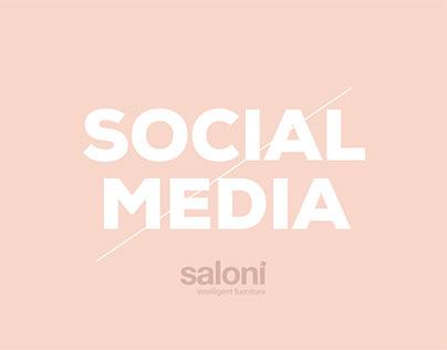 Saloni Furniture / Social Media Designs