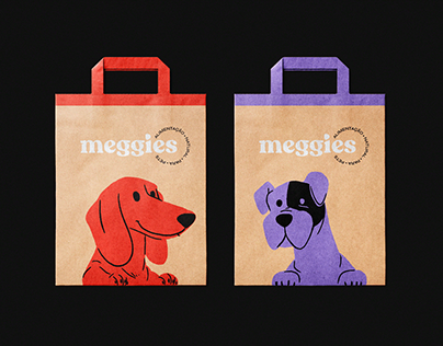 Meggies Natural Food for Pets | Brand Identity