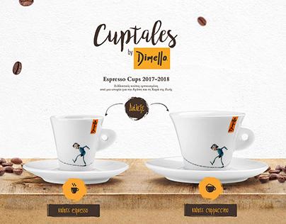 Cuptales, Onepage Design & Social Media