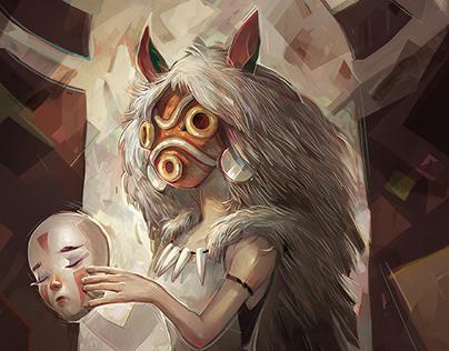 Princess Mononoke Fan Art