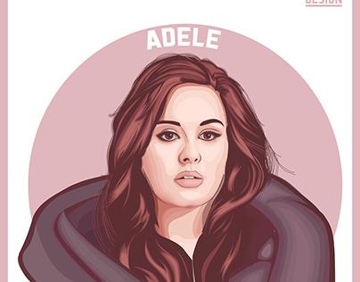 Adele Vector art Challenge