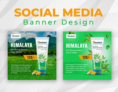 Product Social Media post banner Design, Ecommerce