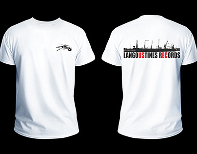 DESIGN T-SHIRT - Langoustines Records