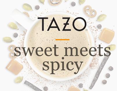 Tazo K-Cups Microsite