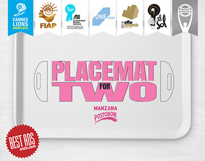 Manzana Postobón   Placemat for Two